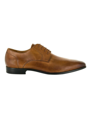 NEW Florsheim Mens Kabul Plain Vamp Lace Up Tan