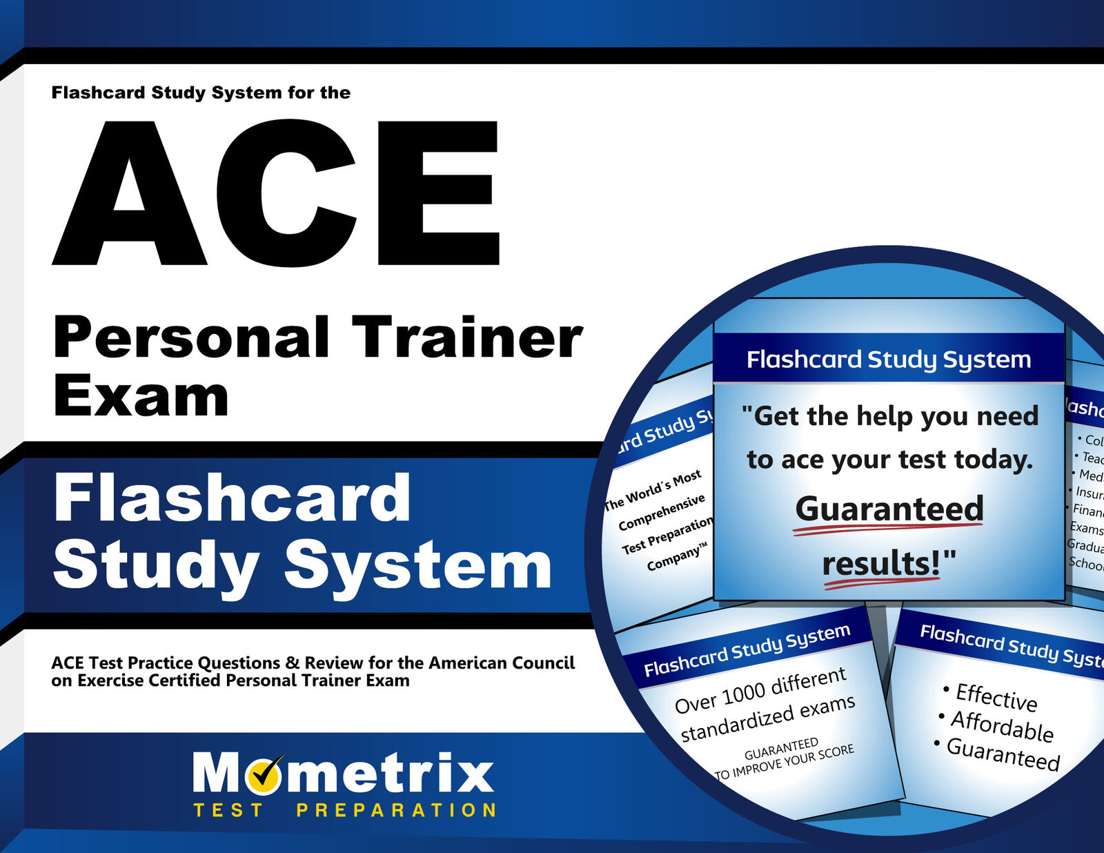Flashcard Study System For The Ace Personal Trainer Exam Ace Test