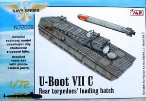 Trappe de chargement pour torpille arrière type Viic Cmk 1/72 pour Revell # N72008