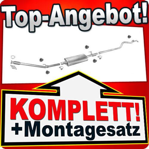 Auspuff VW LT 2.8 TDI 28 35 46 LWB-Lang 1997-2006 Rohr Vorne Auspuffanlage T02