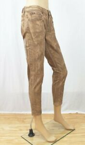 """POLO by Ralph Lauren Tompkins Skinny Cropped Jeans~""""Brown""""~NWT"""