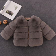 4bd834110d980 item 1 Winter Baby Girls Fur Coat Kids Faux Fur Jacket Coats Thick Warm  Parka Outerwear -Winter Baby Girls Fur Coat Kids Faux Fur Jacket Coats  Thick Warm ...