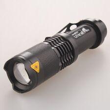 Mini Bright 4000LM 5-Mode CREE XML T6 LED Adjustable Flashlight Torch Light