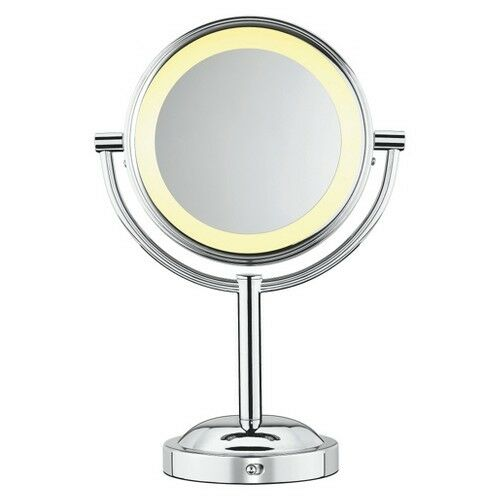 Conair Double-Sided Lighted Makeup Mirror with Reg/5X Magnification