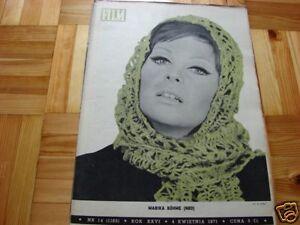 Marika Bohme front cover Polish mag Film 1971 - Pyszkowo, Polska - Marika Bohme front cover Polish mag Film 1971 - Pyszkowo, Polska