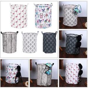 Large-Storage-Laundry-Hamper-Basket-Bucket-Bin-For-Kids-Toy-Clothes-Organizer