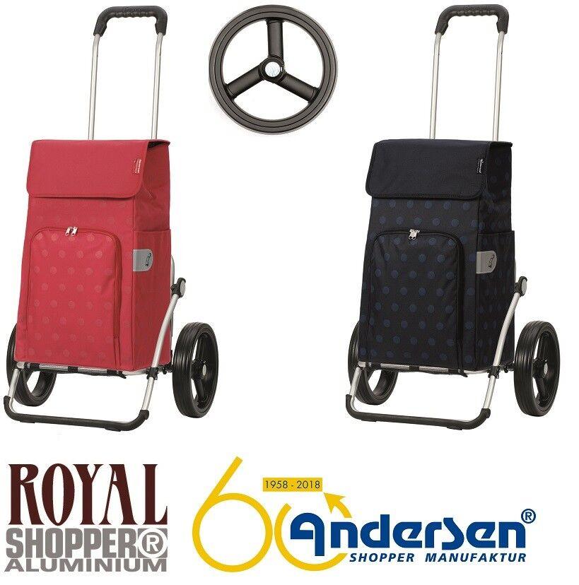 Andersen Royal Shopper Einkaufstrolley Lizzy 3 Speichenrad Einkaufstrolley Shopper Einkaufswagen 174e9d
