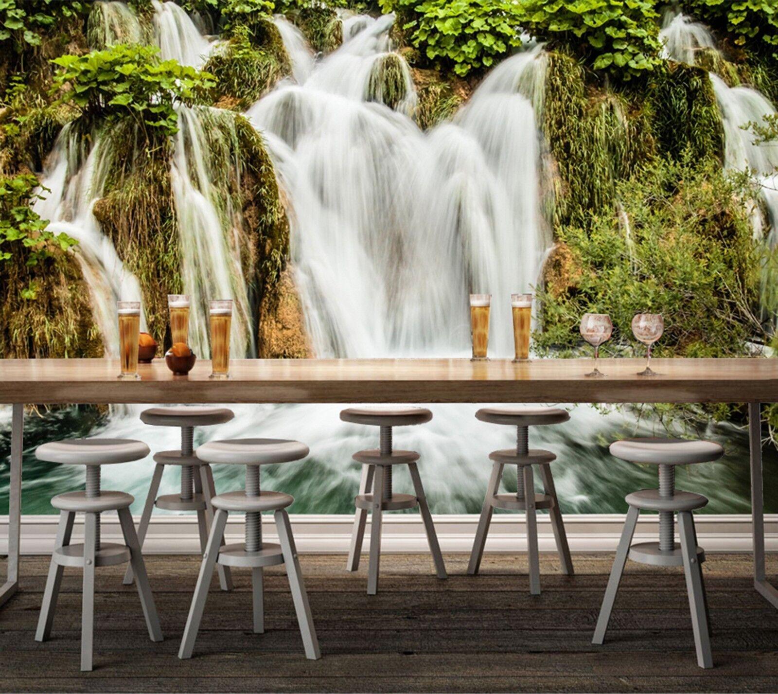 3D Wasser Dschungel Gras 894 Tapete Wandgemälde Tapeten Bild Familie DE Lemon