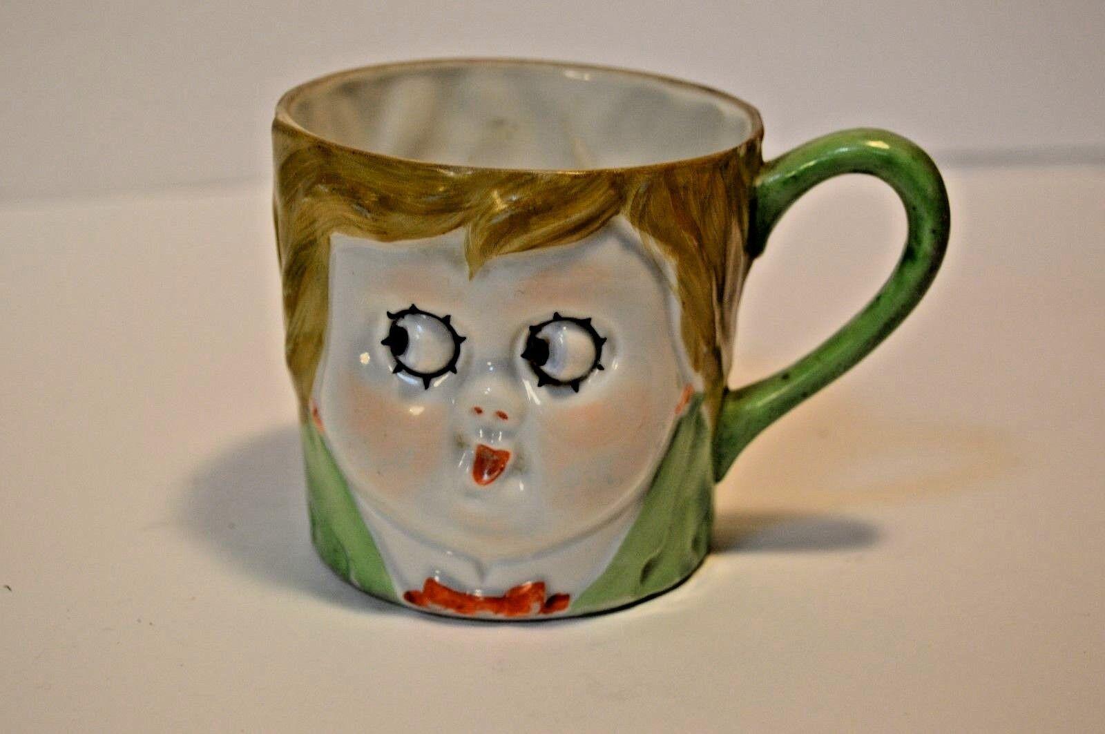 Vintage Nippon Doll Face Mug