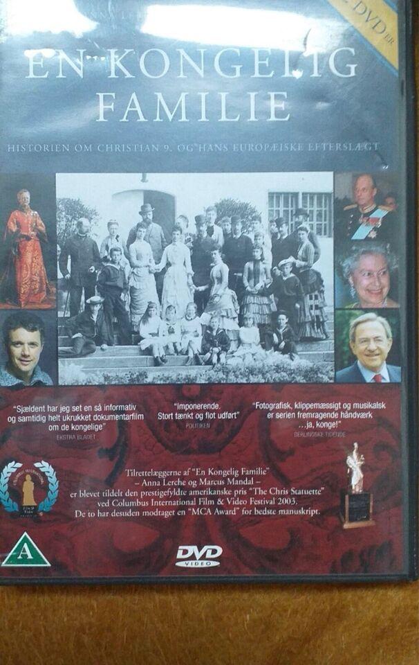 En kongelig familie, DVD, dokumentar