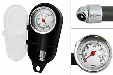 0 - 7,5 bar Air Gauge Tire Tyre Pressure Gauge Manometer Bike Car Truck + Box