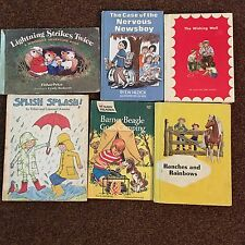 Vintage Children's Books Wishing Well Ranches And Rainbows Barney Beagle 6 Total