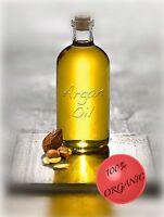 2oz 100% Organic Moroccan Argan Oil Hair Nail Vitamin Smooth Skin Anti Age Acne