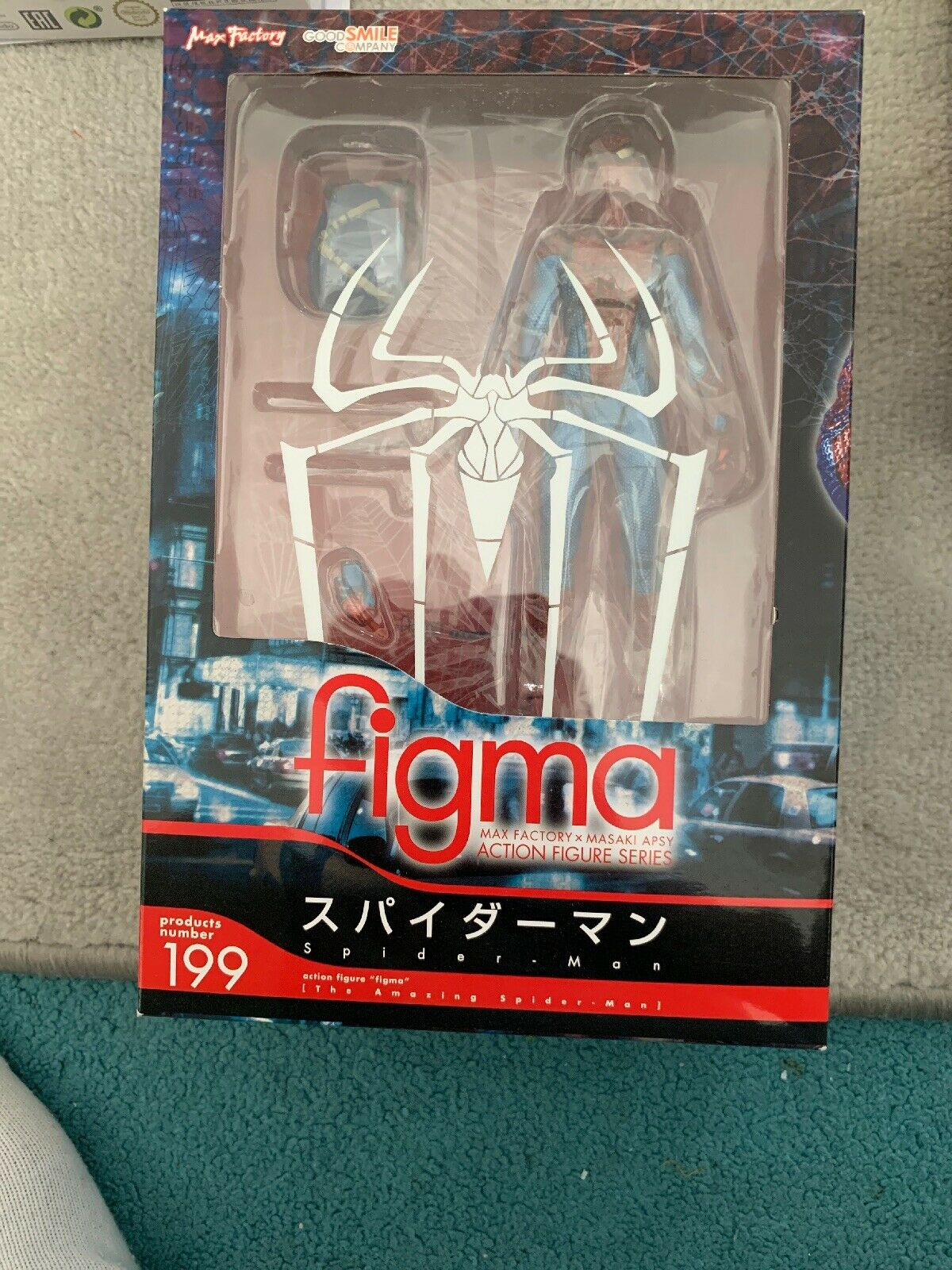Max, la fábrica figma 199, Spider - Man original engañoso.