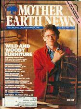 1987 Mother Earth News Magazine #103: Wild & Woody Furniture/Daniel Mack/Trees