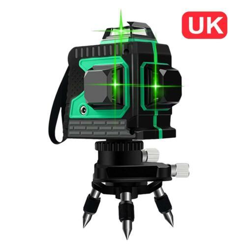 3D 12 Ligne 360° Rotatif Niveau Instruments De Mesure À Laser Auto-nivellement