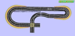 Scalextric Digital Track Kit d'extension de coin Super Chaos 2
