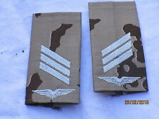 Loop di rango di Bw: Caporale, Luftwaffe , bianco/mimetico tropicale