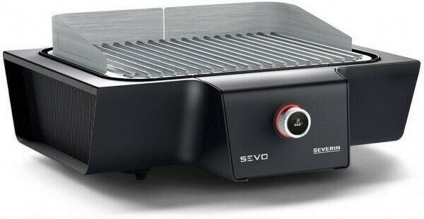 Severin PG 8104 Grilltemperatur: 80°C – 500°C,unbenutztes Ausstellungsstück)
