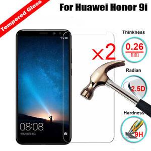 2Pcs For Huawei Honor 7A 7C 9i 10 V10 / Enjoy 8E Tempered Glass Screen Protector