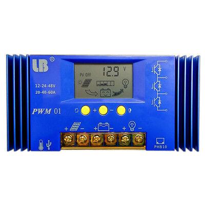 Straightforward Battery Charge Solar Controller Dc 12v/48v Lithium Lifepo Solar Controller Batt Erneuerbare Energie