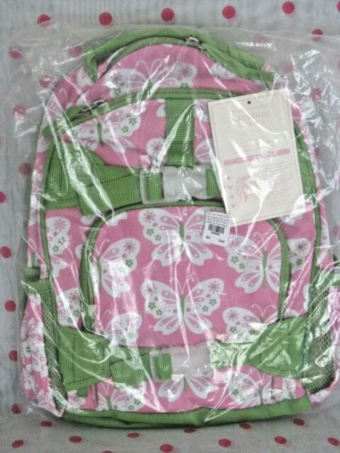 New Pottery Barn Kids Small Pink Butterfly Backpack