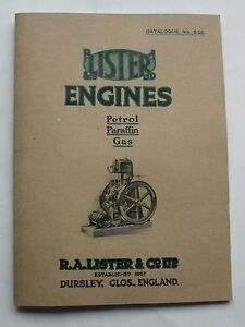 Lister-Engines-Petrol-Paraffin-amp-Gas-Catalogue-1925