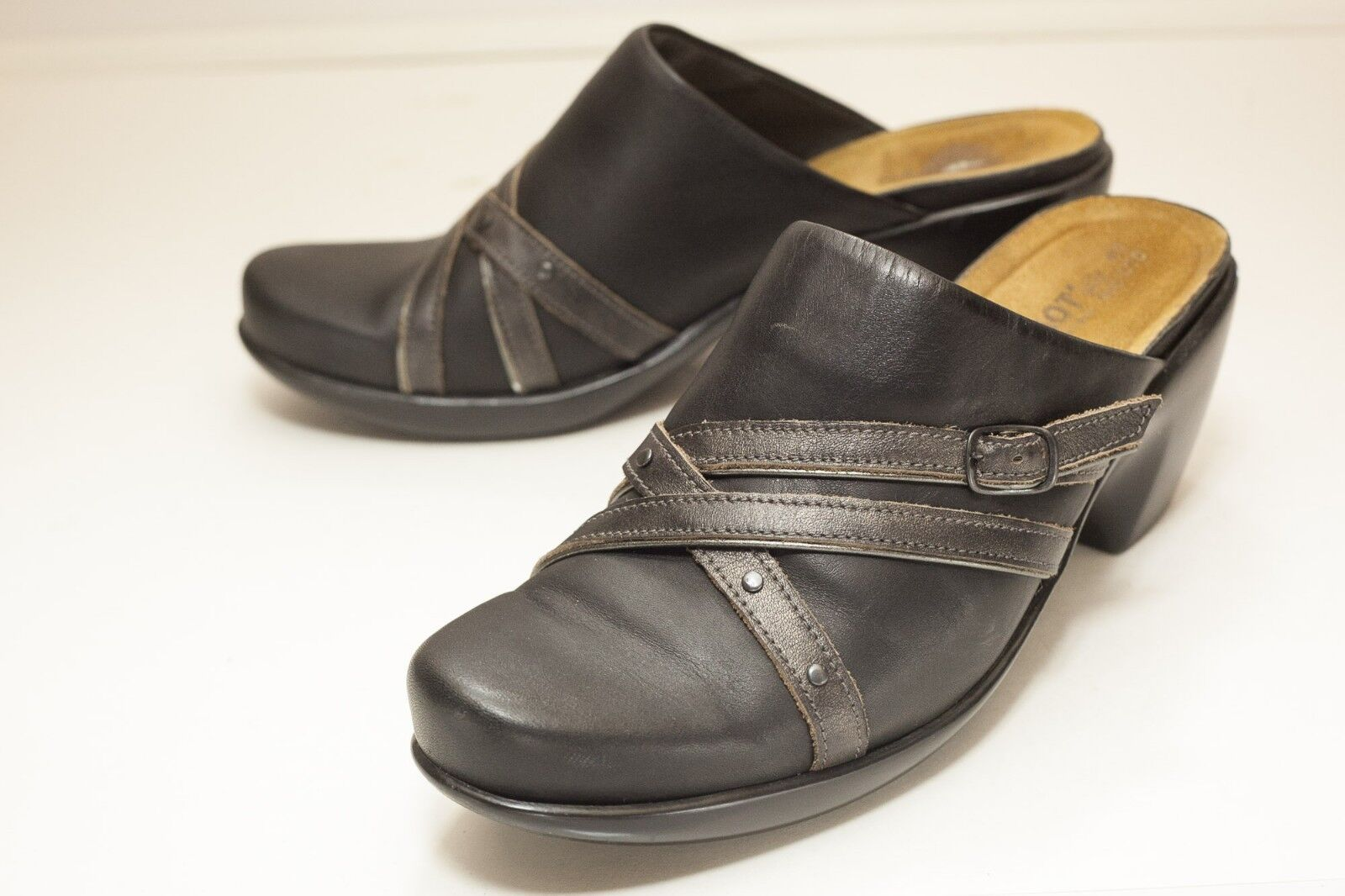 Men's/Women's NAOT US Easy 10 Black Mules Women's Easy US to clean surface Price reduction a lot of varieties deba3c