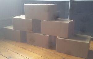 TWENTY (20) - 12x9x6 cardboard box  / single wall box / 12 x 9 x 6 cardboard box