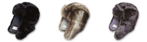 NUOVO Ignite BORIS Fur Trapper Cappello con Orecchie Flap-Vendita-RRP £ 39.99