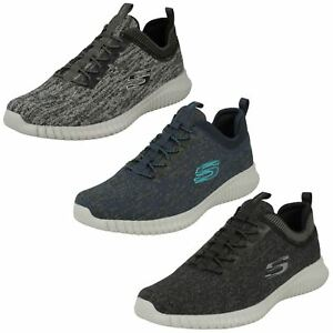 Skechers Elite Flex 52642 Bkgy Uomo :