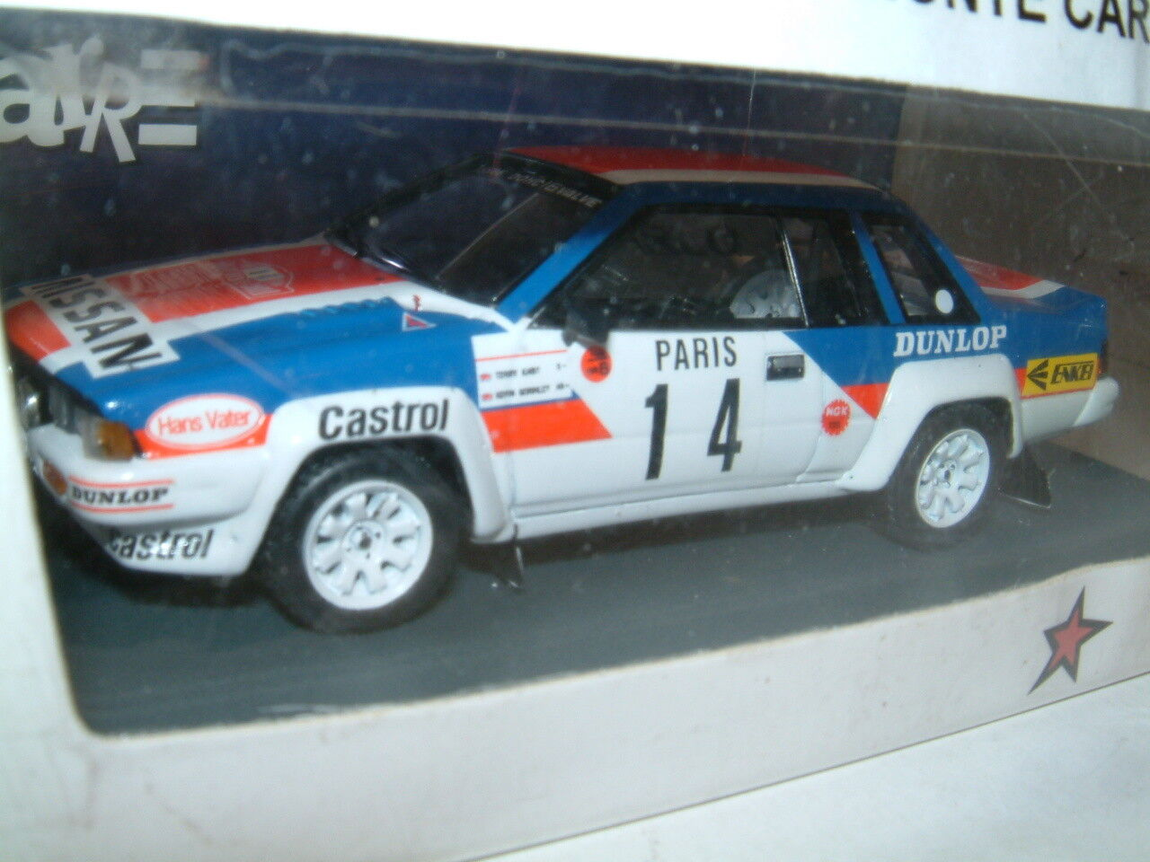 1 43 NISSAN 240 RS 1984 MONTE CARLO RALLY  KABY  BIZARRE RESIN,