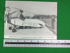 Hafner Gyroplane  1937 (or earlier) publication cutting