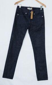 Fragile women jeans boot cut slim low rise black