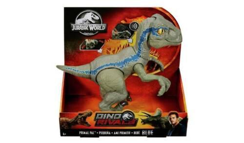 Jurassic World 8 pouces Primal PAL bleu avec réaliste et mouvements Sound FX NEUF