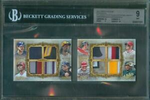 2013-Topps-Five-Star-TROUT-HARPER-UPTON-McCUTCHEN-Octo-Patch-Booklet-1-5-BGS-9