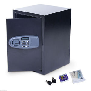 Electronic-Wall-Safe-Box-Digital-Lock-Cash-Jewelry-Security-Home-Office-Hotel