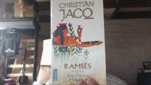 Ramses-tome-5-Sous-l-039-acacia-d-039-Occident-de-Christian-Jacq-Livre-d-039-occasion