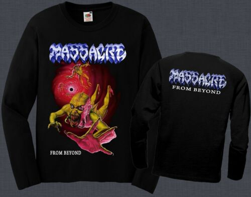 MASSACRE-From Beyond-Death metal-Death,T-shirt long sleeve-sizes:S to XXL