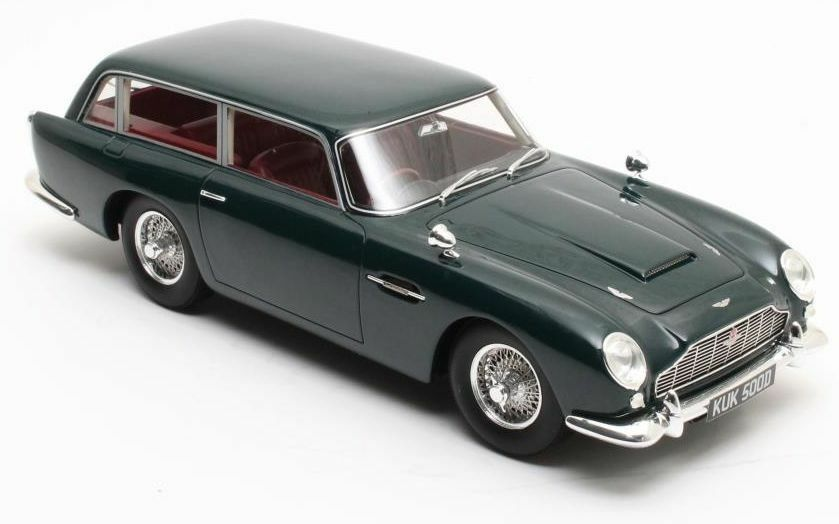 Aston Martin DB5 Shooting Brake green 1964  1 18 scale Resin