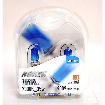 Nokya Arctic White H16 Headlight Fog Light Bulb 7000K Stage 1