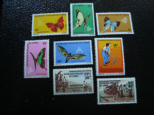 CONGO-brazzaville-timbre-yt-n-303-a-308-n-309-310-n-A7-stamp