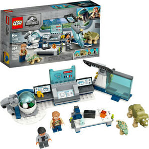 LEGO-Jurassic-World-Dr-Wu-039-s-Lab-Baby-Dinosaurs-Breakout-75939-New-Toy