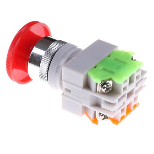 Rote Kappe 1NO 1NC DPST Not-Aus-Schalter AC 660V 10AAha
