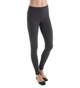 c79d65a1e89fc8 NWT- HUE - Ladies 95% Cotton Basic Pull-on Leggings, Graphite ...
