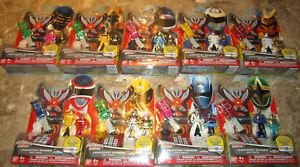 Packs de clés légendaires Power Rangers Super Megaforce Toys R Us Exclusive Spd Zeo