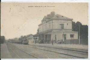 CPA-89-JOIGNY-Gare-du-P-L-M