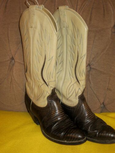 Vintage Ralph Lauren Western Cowboy Tan Leather Br