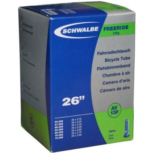 26 x 2.10//3.00-40mm Schrader Valve Schwalbe AV13F Freeride Inner Tube