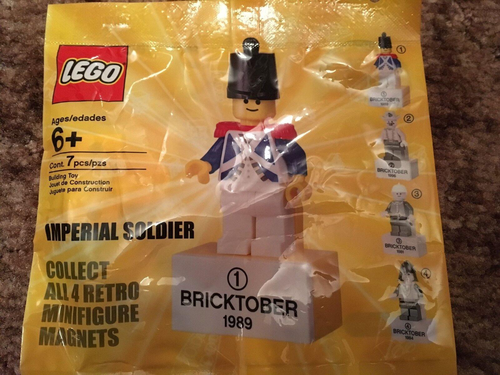 Lego Rétro bricktober AiFemmet Set Of 4 Brand Brand Brand New & Sealed   Choix Des Matériaux  ca1e60